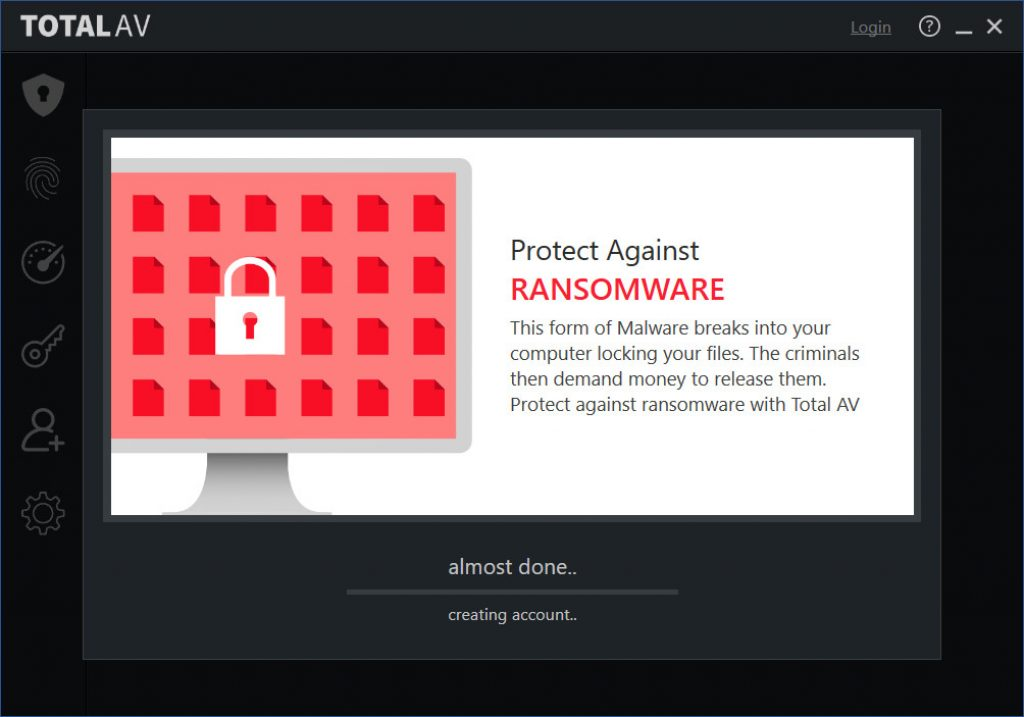 Total AV give you Protection Against Ransomware